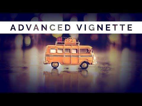 How To Create Customizable Advanced Vignettes In Photoshop + FREE ACTION SET