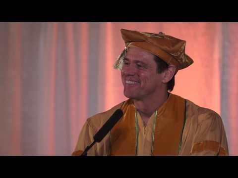 Full Speech: Jim Carrey's Commencement Address at the 2014 MUM Graduation  (En, Fr, Es, Ru)
