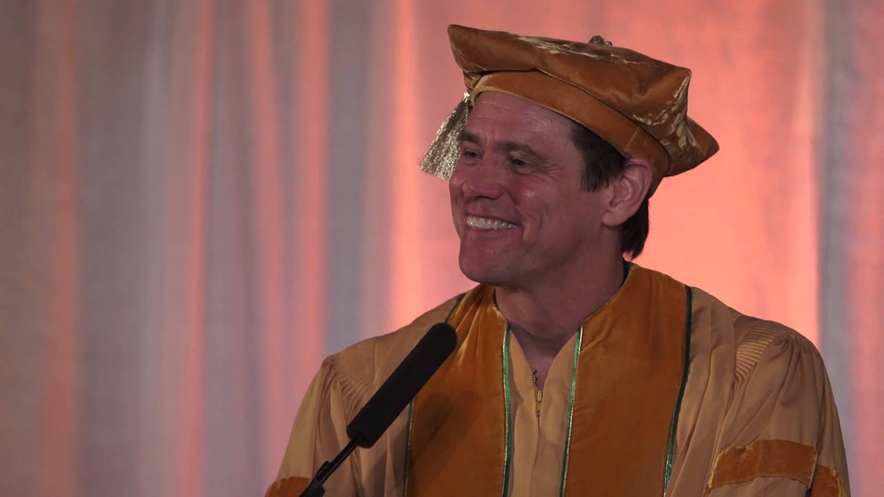 jim carrey graduation speech transcript