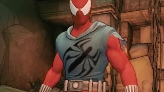 Spider-Man Scarlet Spider Suit/Costume [Spider-Man: Shattered Dimensions]