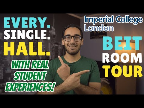The COMPLETE Imperial Accommodation Halls Guide With REAL STUDENT EXPERIENCES + BEIT HALL ROOM TOUR!
