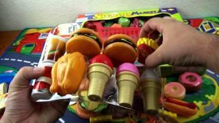 Super  market toys  и киндер сюрприз