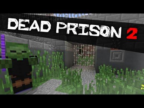Прохождение карт в Minecraft. Dead Prison. Тюрьма Мертвых. Серия 1.