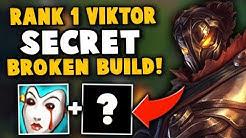 i got rank 12 NA building this secret OP item on viktor