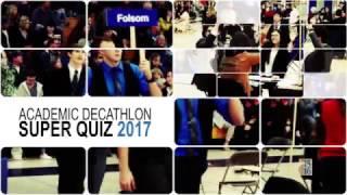 Sacramento County Super Quiz 2017 Promo