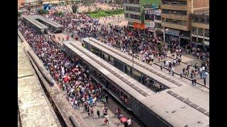 Así transcurrió la marcha de universidades públicas en Bogotá