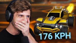 BIZARRE COMBO SCHOTEN! | Rocket League
