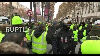 'Yellow Vest' Protest In France