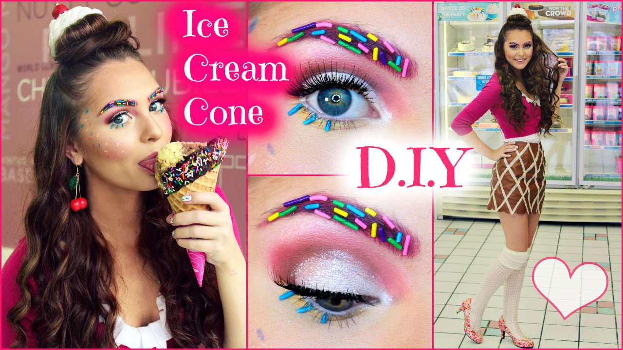 Ice Cream Makeup Look by Jackie Wyers