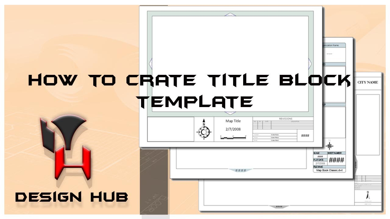 autocad tutorail creating template title block drawing layout design part 4 youtube. Black Bedroom Furniture Sets. Home Design Ideas