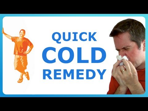 My Cold Cure How To Get Rid Of Cold Fast