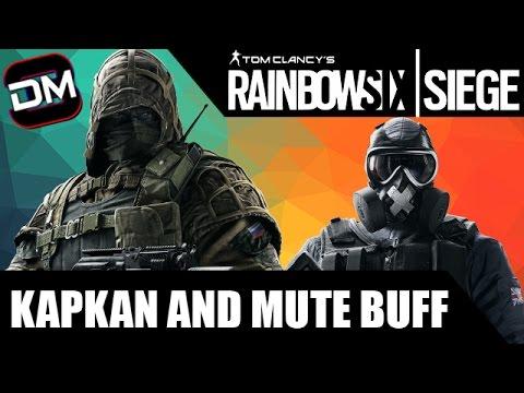 Mute & Kapkan BUFF! | Rainbow Six Siege Mute & Kapkan Tips