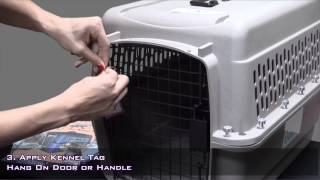 "Pets On Airplanes: ""how To Assemble Your Pet Carrier For Airline Approval"""