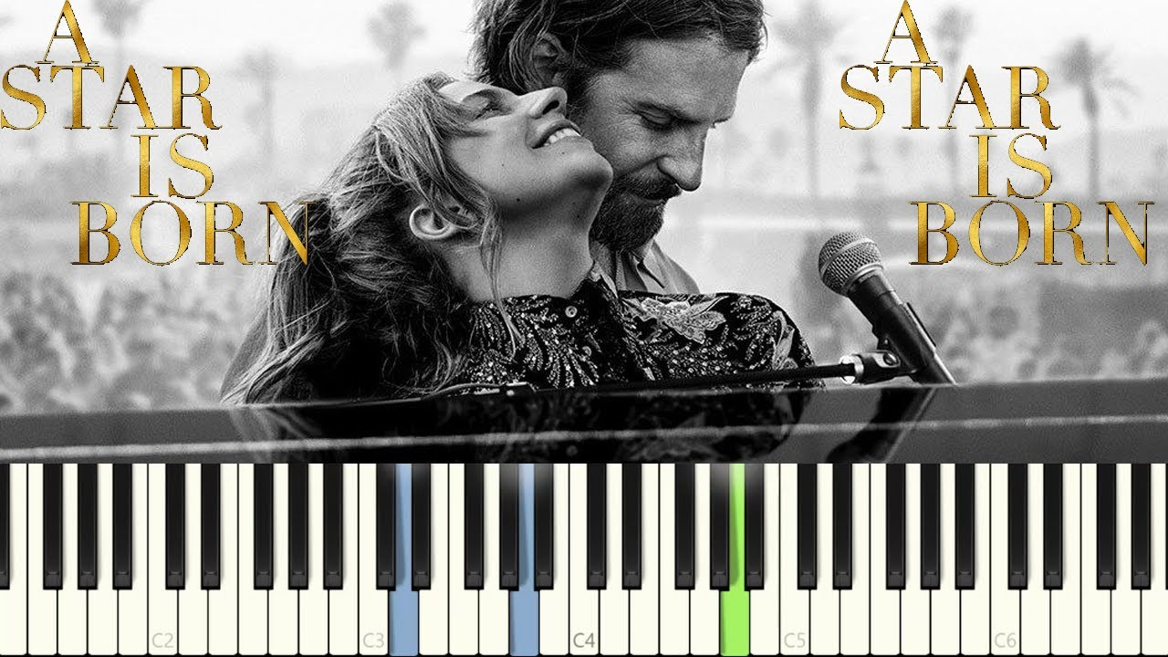 Lady Gaga - Shallow (A Star Is Born) PIANO TUTORIAL || FREE SHEET & MIDI