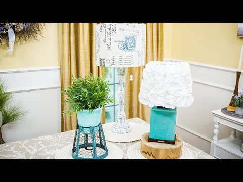 DIY Lampshades: Three Ways - Home & Family