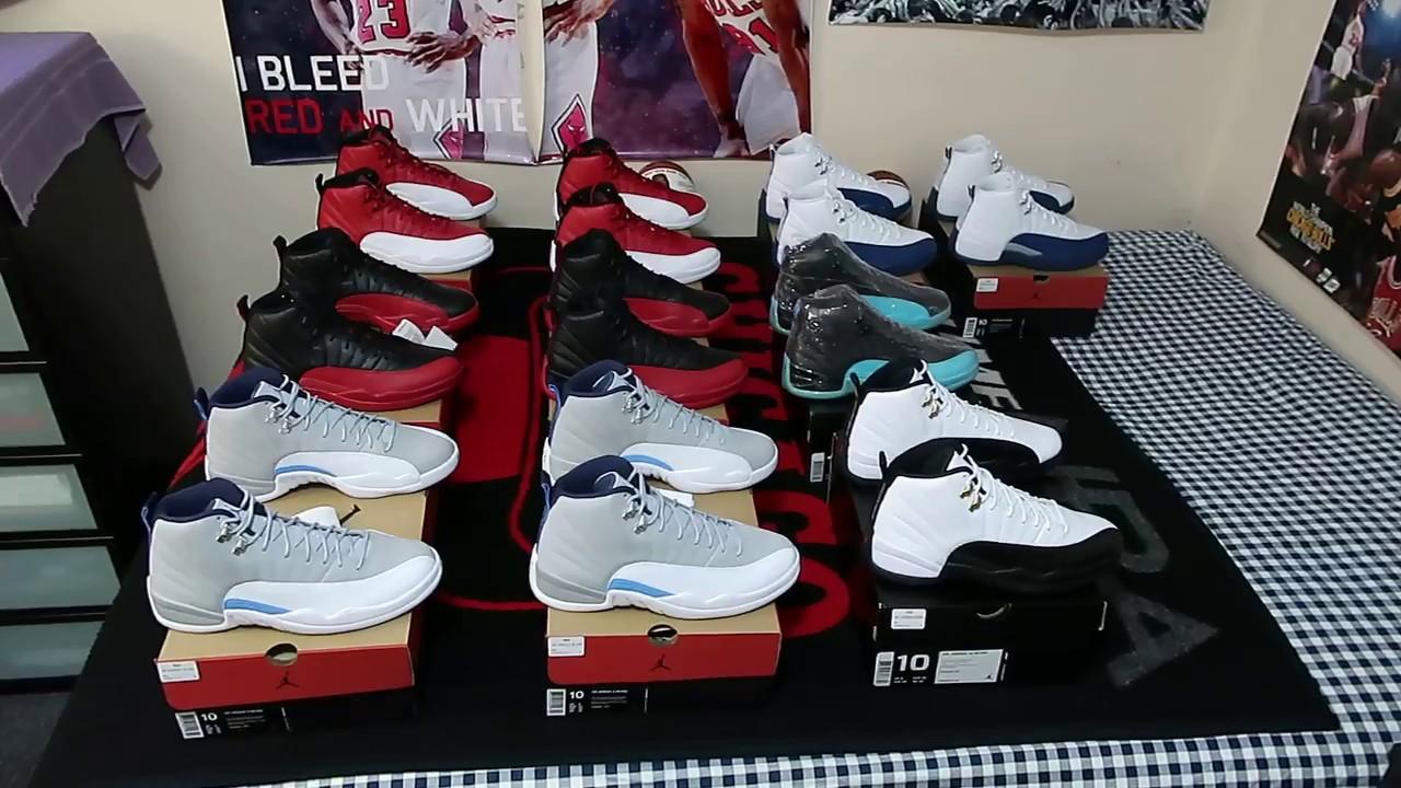 Air Jordan XII (12) Retro Collection