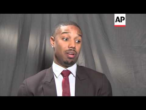 Up-and-coming actor Michael B Jordan passes on his advice to young actors looking to make a mark