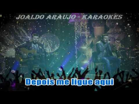 MARCOS E BELUTTI - DOMINGO DE MANHÃ (VIDEO KARAOKE)