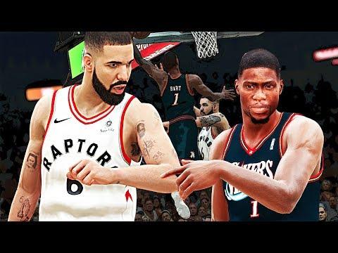 NBA 2K18: Kevin Hart Vs Drake