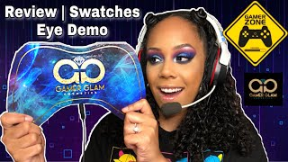 Space Legend Level One Palette Review Swatches & Eye Demo | Gamer Glam Cosmetics