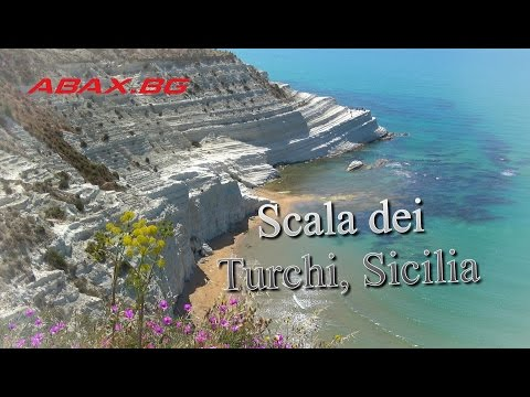Scala dei Turchi, Sicilia, Italy travel guide 4K bluemaxbg.c