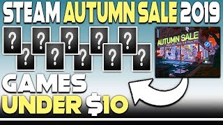 STEAM AUTUMN SALE 2019 - 10 AWESOME GAME DEALS UNDER $10!