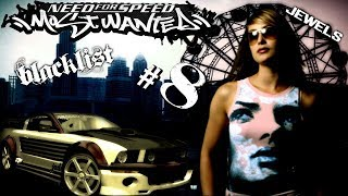 Let´s Play Need For Speed Most Wanted 2005 - Only Blacklists - Blacklist #8 - Jewels !