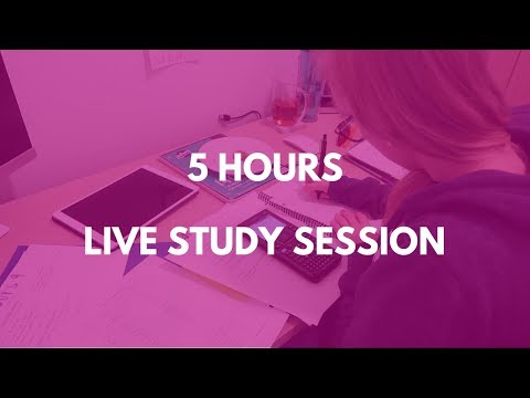 Study With Me - Live Study Session (Can I Do 8 hours again?) #136
