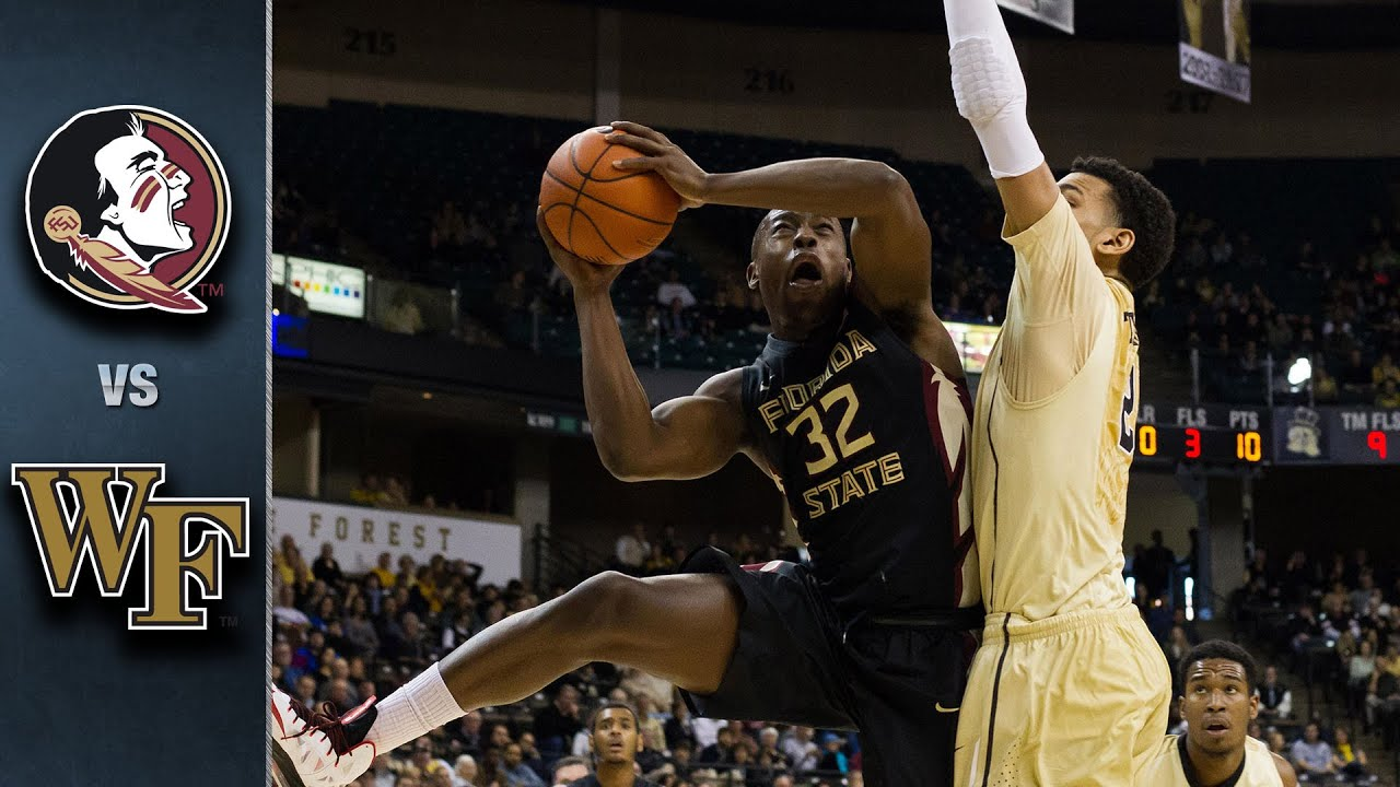 Image result for Florida State vs Wake Forest basketball