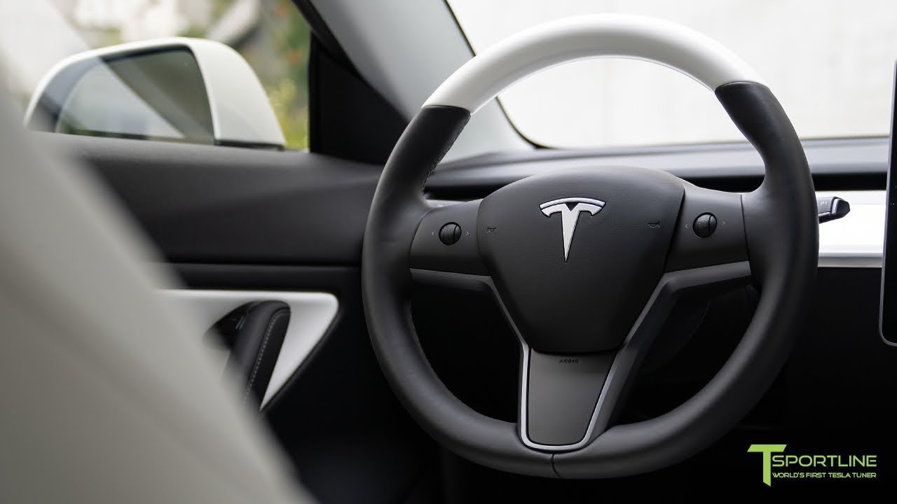 Tesla Model 3 Interior White Or Black : Tesla Model 3 ...