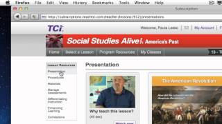 Social Studies Alive: Elementary Instructional Materials