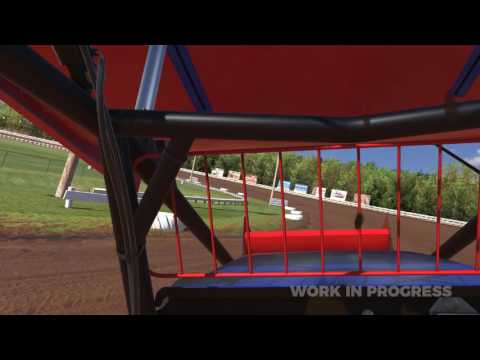 iRacing in VR: Winged 410 Sprint Car at Williams Grove Speedway
