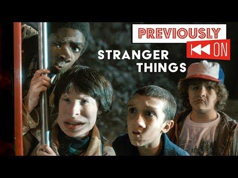 Stranger Things Season 1  RECAP - Previously On