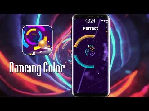 Dancing Color: Smash Circles