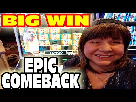 AMAZING COMEBACK & BIG WINS ★ VLR & DIANA GO TO RAMPART CASINO