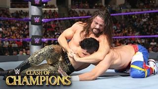 #WWEClash 2016 — FULL MATCH — T.J  Perkins VS Brian Kendrick — WWE Clash Of Champions 2016