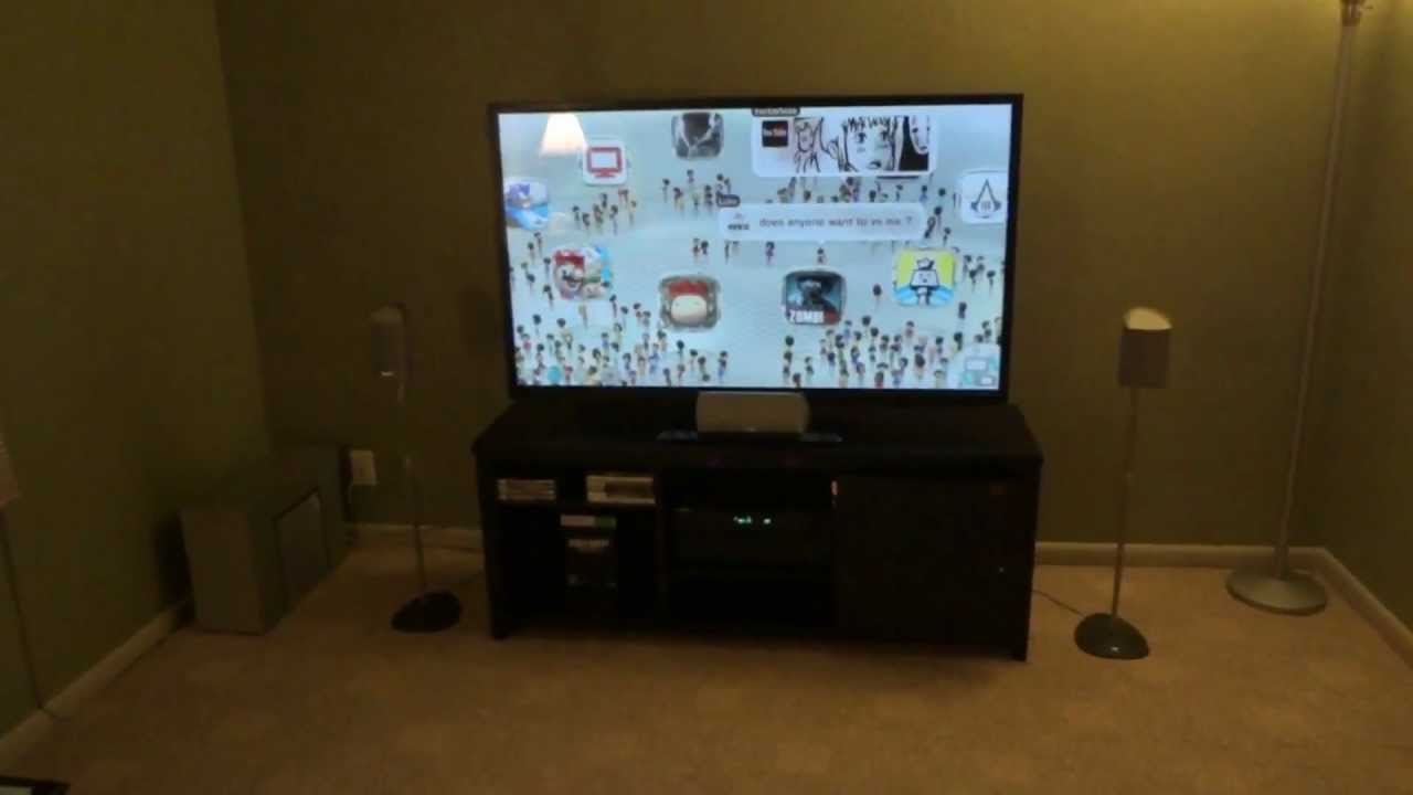 My Wii U 5 1 Surround Sound Setup Youtube
