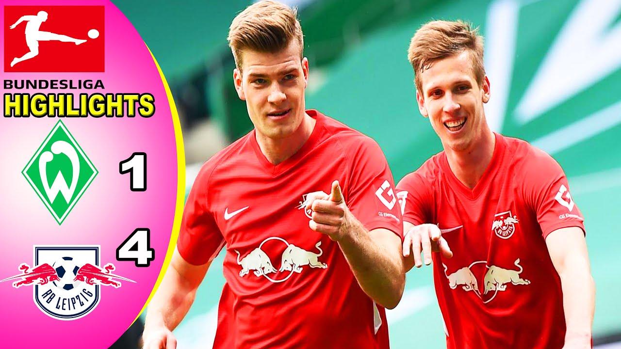 Download Werder Bremen vs RB Leipzig 1-4 Bundesliga I Goals Highlights Match Report 10/04/2021