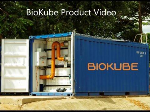 BioKube | BioContainer | Mobile wastewater treatement plant