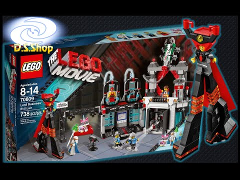 LEGO Movie Sets LORD BUSINESS EVIL LAIR 70809 La Gran Aventura Lego Review Español Juguetes