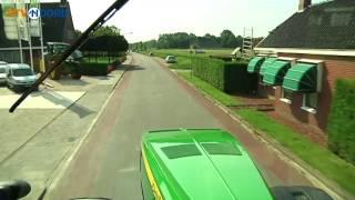 Grootste trekker ter wereld in Spijk - RTV Noord
