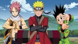 vuclip Naruto vs Natsu and Gon