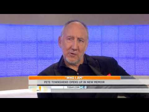 """TODAY: The Who's Pete Townshend On His Memoir """"Who I Am"""" 10/8/12"""