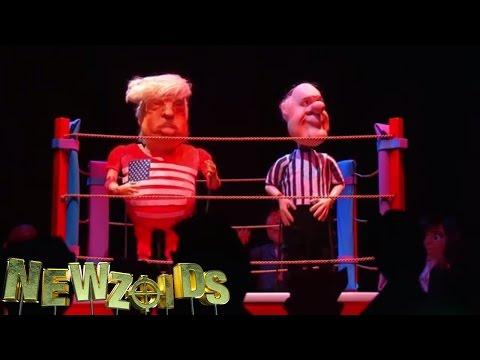 Donald Trump Wrestling - Newzoids
