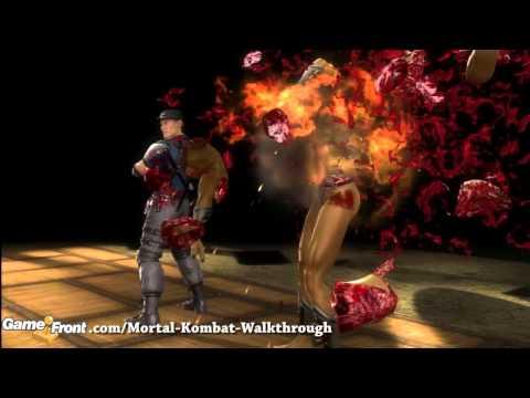 Mortal Kombat - Fatalities - Walkthrough - Stryker - Have A Blast