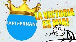 LA VICTORIA ES MIA!! - Agar.io | Fernanfloo