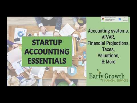 Startup Accounting Essentials