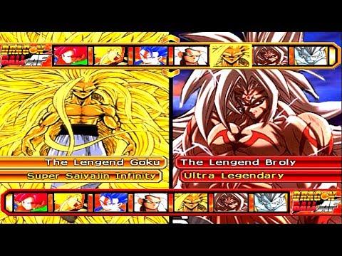 Team The Lengend Goku SSJ Infinity VS Team The Lengend Broly Ultra Legendary | DBZ BT3
