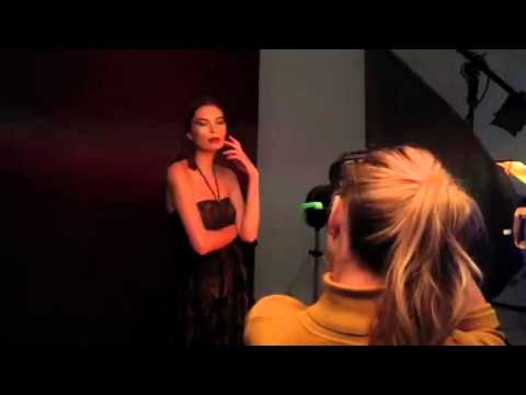 Dasha (L-Models Kiev) | model tests | behind the scenes
