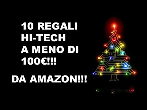 10 regali hi tech a meno di 100 da amazon regali di for Regali hi tech